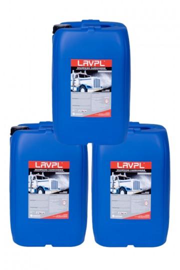 3 x LAVPL | Shampoing carrosserie poids-lourds | bidon 20L