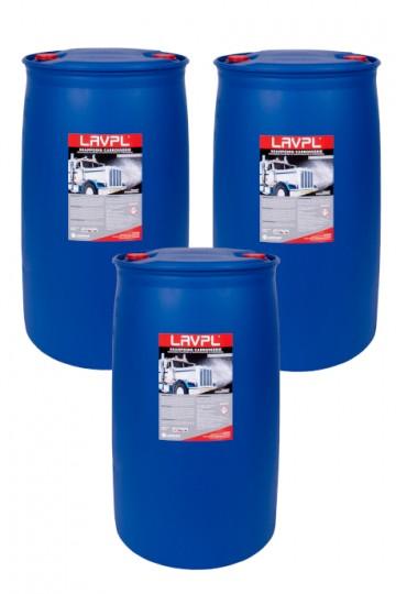 3 x LAVPL | Shampoing carrosserie poids-lourds | fût 200L