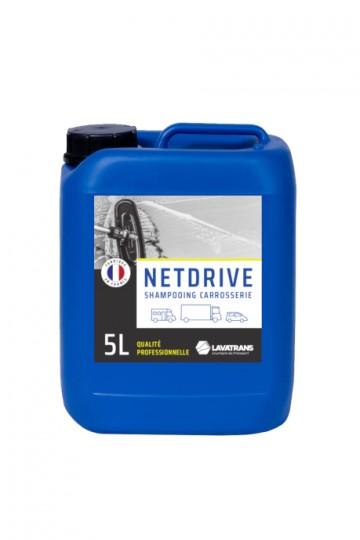 NETDRIVE | Shampoing carrosserie tous véhicules | bidon 5L