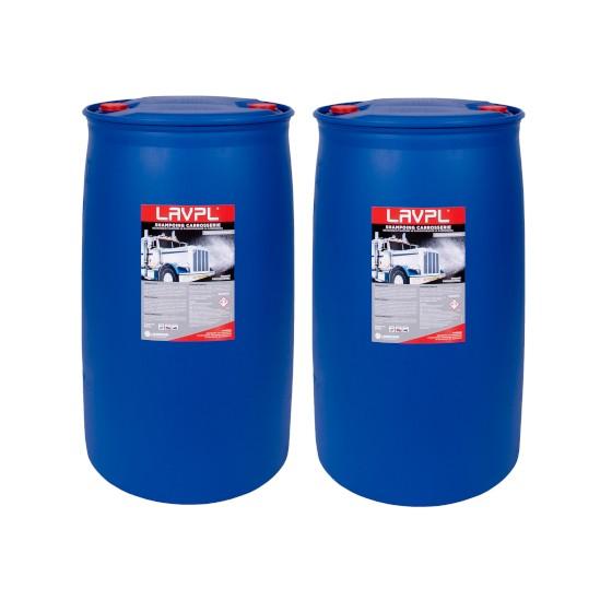 2 x LAVPL | Shampoing carrosserie poids-lourds | fût 200L