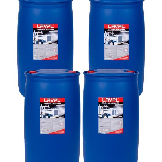 4 x LAVPL | Shampoing carrosserie poids-lourds | fût 200L