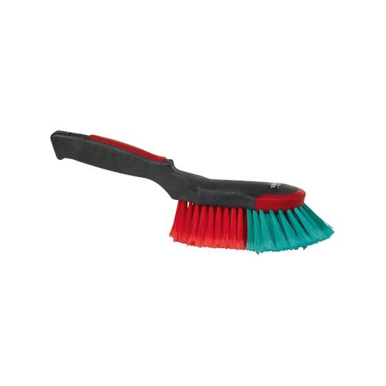 Brosse à main pour carrosserie à fibres souples VIKAN