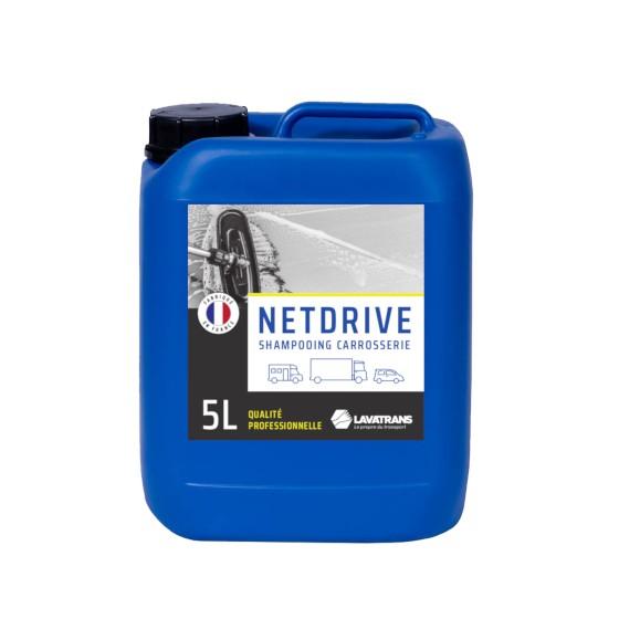 NETDRIVE   Shampoing carrosserie tous véhicules   bidon 5L